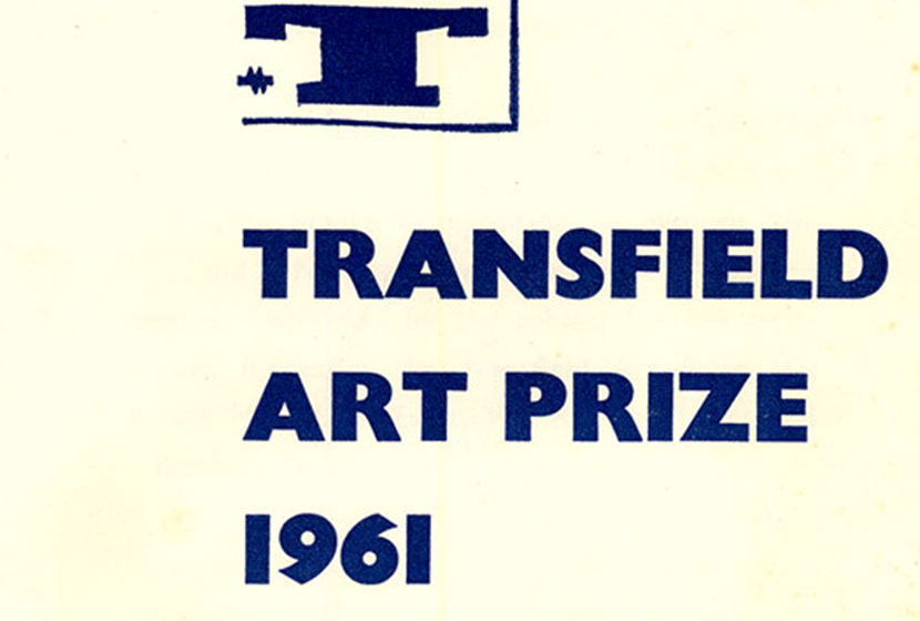 Invitation to the first Transfield Art Prize in 1961.