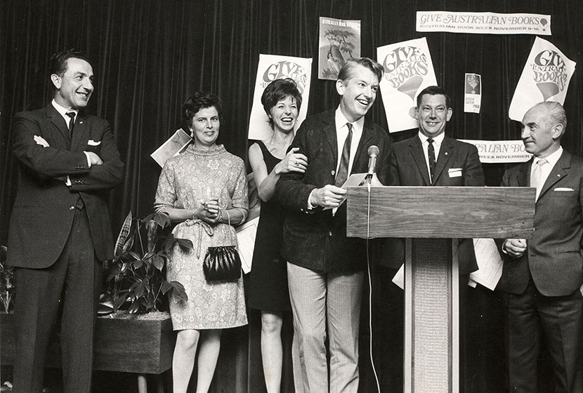 1968. Australian Book Review - Transfield Book Production Award. Presentation ceremony.