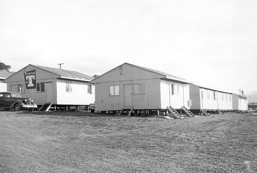 1958. Living quarters at Port Kembla.