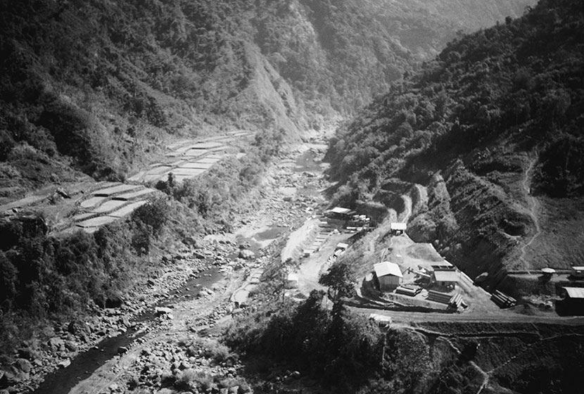 1999. The power station site of the Bakun Hydro-Electric Project, Philippines.