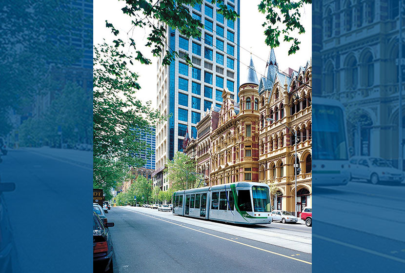 Melbourne's Yarra Trams is a service operated by Transfield Services.