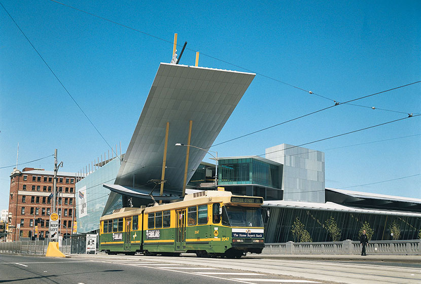 One of the Yarra trams, maintained by Transfield Services.
